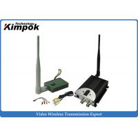 Best FPV Wireless Video Transmitter 1.2Ghz 8CHs / CCTV Video Transmitter and Receiver with 400mW wholesale