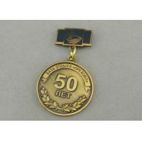 Cheap Zinc Alloy Custom Awards Medals Die Costing Antique Gold Double Side 3D Military for sale