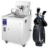 China Ultrasonic  Golf Club Cleaner 49L ultrasonic cleaning equipment for Golf with CE FCC AND RoHS on sale