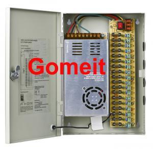 Best CCTV 18 Channel / Access Control Power Supply Box 12VDC 10A 316 X 205 X 51cm wholesale
