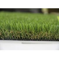 China Landscape Artificial Grass , Landscaping Fake Grass V Shape Yarn 20mm - 60mm on sale