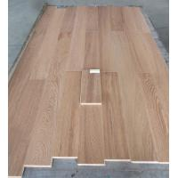 China Russian Oak Multi ply engineered hardwood flooring-smoked, white washed finishing on sale