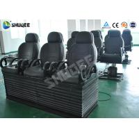 Best Electric 5D Cinema Equipment With Black Motion Chair , Provide Accurate Motion Effect wholesale