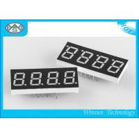China 0.56'' LED Seven Segment Display For Indoor / Outdoor Display , 8 - 220 Mcd Brightness on sale