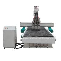 Cheap 3 Spindles Auto Tool Changer ATC Furniture Wood Relief CNC Machine for sale
