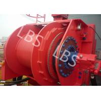 Best Grey Colour Anchor Windlass Winch Smooth Durm For Pulling / Pushing wholesale