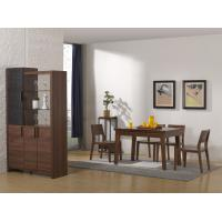 Best 2016 Nordic Design Small Dining room furniture by Enlargeable Tables with Chairs and Wine Cabinet wholesale