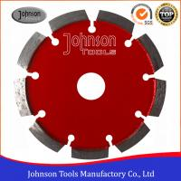Best Wet / Dry Cutting 125mm Diamond Tuck Point Saw Blade For Concrete Stone Grooving wholesale