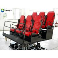 Best Shooting Gun Game 7D Movie Theater Hydraulic Platform Chairs for 6 People wholesale