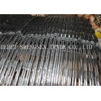 Best BTO - 22 Galvanized Concertina Razor Wire For Hight Security Fence / Garden wholesale
