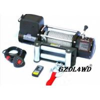 Best Steel Heavy Duty Truck Winch , 12000lbs Atv Electric Winch With Steel Rope wholesale