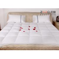 Best Stain Resistant Hotel Mattress Topper Single / Double Size Available ZB-MT-10 wholesale