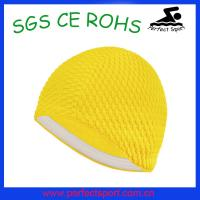 Best Bubble Crepe Swim Cap wholesale
