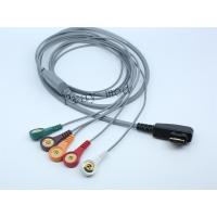 Best DMS Holter ECG Patient Cable 5 / 7 / 10 Lead 19 Pin With 6 Month Warranty wholesale
