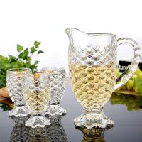 Best china glass water jug set with glasses wholesale