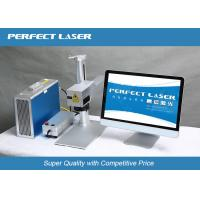 Quality Energy Saving 10w Fiber Laser Part Marking Machines For Metal / Stainless Steel wholesale