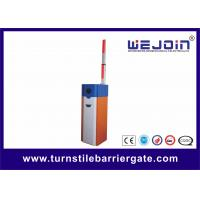 Best White Orange Car Park Barrier Arms Automatic Vehicle Barriers CE ISO Approval wholesale