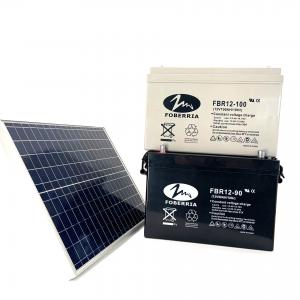 Best Deep Cycle 12v 200ah Solar Battery F14 Terminal For Solar UPS System wholesale