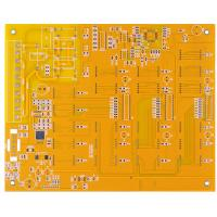 Best yellow Multilayer Rigid Printed Circuit Board Leadfree HASL FR-4 4 layers pcb Board wholesale