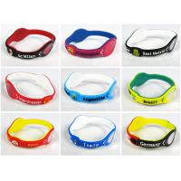 Best 2014 super wristband Brazil World Cup silicone wristband wholesale