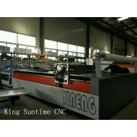 Quality 4000 Rpm / Min Computerized Automatic Cloth Cutting Machine For Textile wholesale