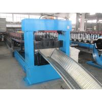 Quality 0.8-1.2mm Gutter Roll Forming Machine , Metal Roll Forming Equipment PLC Control wholesale