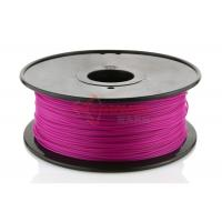 Best Reprap Cubify Printer 1.75MM PLA Filament Purple For 3D Printing , 1KG / Spool wholesale