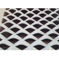 Best 2 . 0 mm Metal Powder Coated Expanded Mesh , Decorative Aluminium Expanded Metal Sheets wholesale