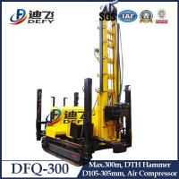 Buy cheap Manufacturer of DFQ-300 Pneumatic Rock Water Well drilling rig machine from wholesalers
