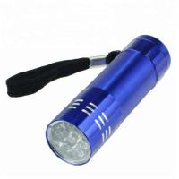Buy cheap Outdoor LED Emergency Flashlight Camping Lamp Customized Aluminum Mini Torch 9 from wholesalers
