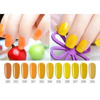 Best No Odor Full Nature Color Glossy UV LED Gel Nail Polish ISO22716 SGS wholesale