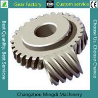 Quality Bevel Gear Assembly Custom Bevel Gear Worm Gear Sets With C45 Materials wholesale