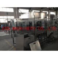Best 4 Working Position Rotary Filling Machine Out Brusher For 5 Gallon Water Production Line wholesale