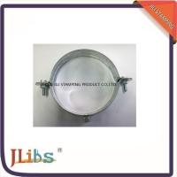 Quality Galvanized Pipe Clamps M7 / M8 Lighter Pipe Clamps Without Coating wholesale