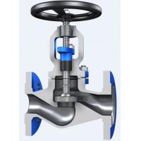 China Through Conduit Pattern Flanged Globe Valve Full Opening with ASTM A 216 Material on sale