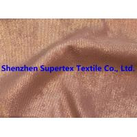 Best Golden Foil Blotch Print Corduroy Stretch Polyester Nylon 16Wales 210GSM wholesale