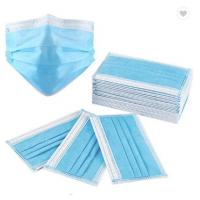 Best 3Ply Surgical Face Mask Non Woven Air Anti Virus and Dust disposable Surgical Medical Face Mask , wholesale