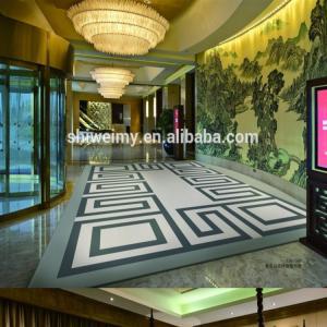 Best Foldable Handmade Woollen Carpet / Modern Wool Rugs Jacquard Style wholesale