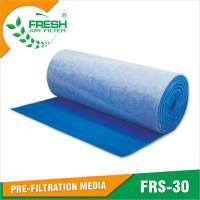 Buy cheap EU3/G3 blue & white color air intake pre filter for spray booth from wholesalers