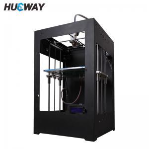 Best Dual Extruder Double Heads Reprap 3D Printer Prusa High Resolution wholesale