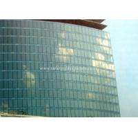 Best Curve / Flat Laminated Safety Glass Minimum Size 250 Mm-350 Mm Solid Structure wholesale
