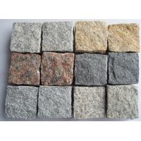 China Various Colors Granite Cubestones for Paving for sale