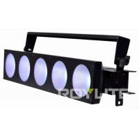 Buy cheap 5 X 30w COB LEDs Show Lighting Beam 60° Stage Blinder Electronic Fan Cooling from wholesalers