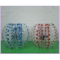 Best 0.8mm PVC Inflatable Sports Games 1.2m 1.5m 1.8m Air Bumper Ball Body Zorb Ball wholesale