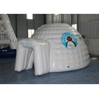 Best Mini Inflatable Igloo Tent / Blow Up Igloo Tent Playhouse For Rental wholesale