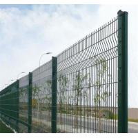 Best Decorative 3D Fence Panels /High Security PVC Coated Metal Fence with Triangle Bends wholesale