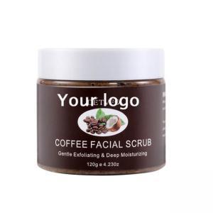 Best Private Label Organic Exfoliating Body Scrub , Coffee Scrub For Dead Skin wholesale