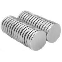 China Neodymium Disk Small Round Magnets with Nickel-copper-nickel Coating on sale