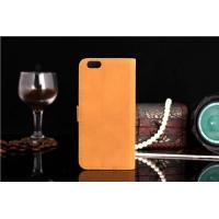 Buy cheap Classic Business Style Luxury Retro Real Genuine Leather Wallet Cell Phone Case from wholesalers