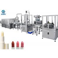 Best Full Automatic Lip Balm Filling Machine With Chilling Tunnel wholesale
